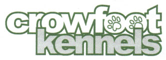 Crowfoot Kennels Logo