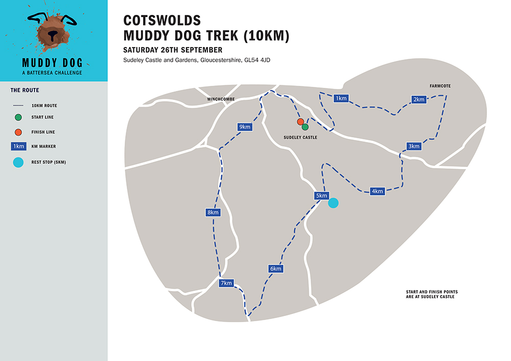 Cotswolds 10km Map