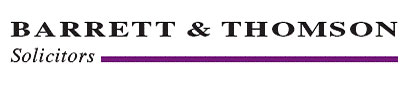 Barrett & Thomson Solicitors Logo